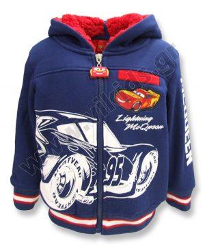 Ζακέτα sherpa McQueen CARS 1133 μπλε