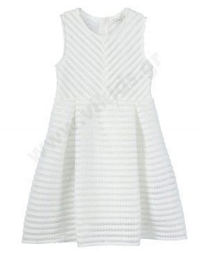 Αμάνικο φόρεμα nameit 6364 υπόλευκο κορίτσια