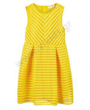 Αμάνικο φόρεμα nameit 6364 κίτρινο κορίτσια