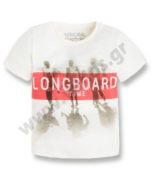 Κοντομάνικο T-Shirt LONG BOARD mayoral 3035