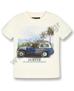 Κοντομάνικο T-Shirt mayoral Nukutavake SURF JEEP 6033