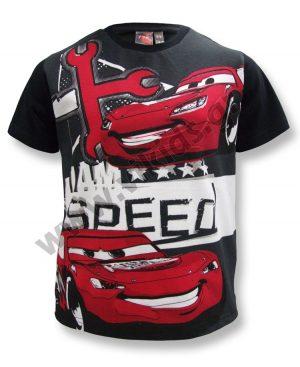 Κοντομάνικο T-Shirt SPEED McQueen 46423 μαύρο