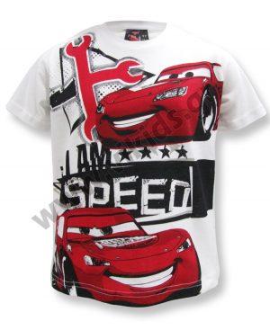 Κοντομάνικο T-Shirt SPEED McQueen 46423 λευκό