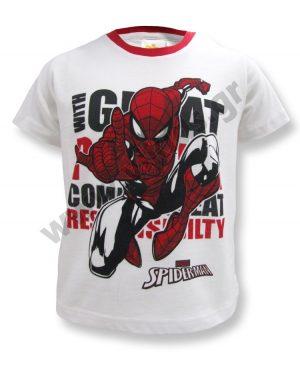 Κοντομάνικο T-Shirt GREAT SPIDERMAN 46427 λευκό