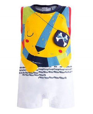 Αμάνικο φορμάκι με τσάντα ΠΕΙΡΑΤΗΣ 49597 tuc tuc