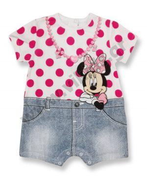 Κοντομάνικο φορμάκι Disney Minnie Mouse 46372 φούξια