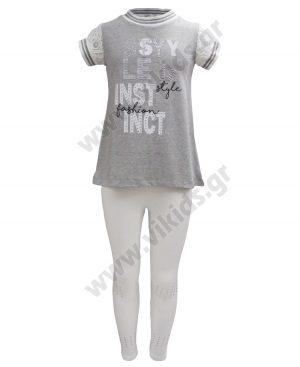 Σετ με μπλούζα και κολάν INSTINCT 37311