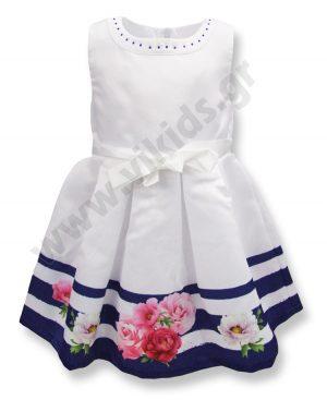 Αμάνικο αμπιγιέ φόρεμα ROSES 65309 Birba