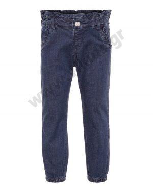 Εποχιακό τζην παντελόνι για κορίτσια nameit 0771