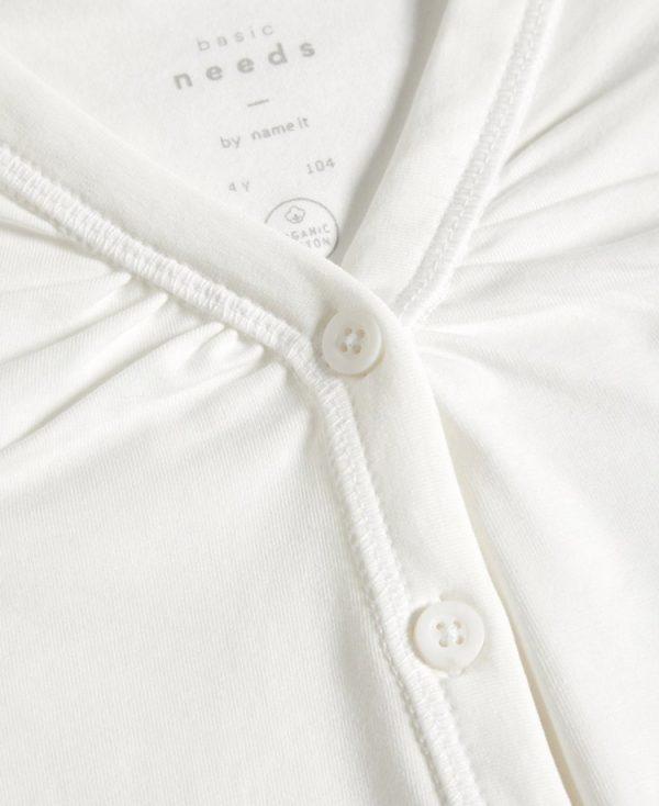 Βαμβακερό μπολερό 3/4 nameit 1688 1689 λευκό