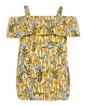 Εμπριμέ μαροκέν μπλούζα με ράντες nameit 5064