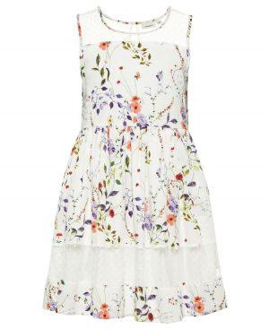 Φλοράλ αμάνικο φόρεμα nameit 6051