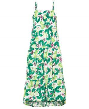 Maxi φλοράλ φόρεμα με ράντες nameit 6518