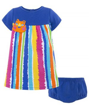 Κοντομάνικο φόρεμα ANIMAL CREW 49259