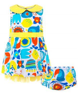 Εμπριμέ φόρεμα HAVANA & FRIENDS 49390 tuc tuc