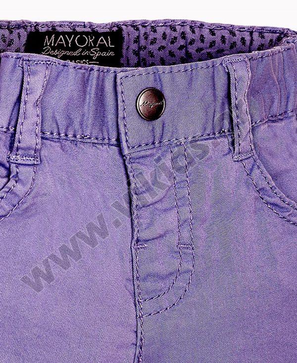 Βρεφικό εποχιακό πεντάτσεπο παντελόνι mayoral 506 λεβάντα