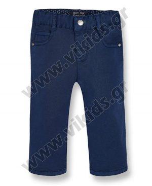Βρεφικό εποχιακό πεντάτσεπο παντελόνι mayoral 506 μπλε