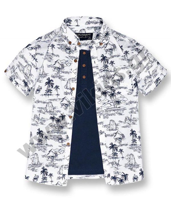 Πουκάμισο μπλούζα mayoral Nukutavake 6133