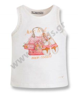 Αμάνικη μπλούζα MON COEUR 3095 mayoral