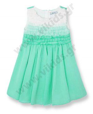 Αμάνικο φόρεμα με βολάν mayoral 3951 OUTLET