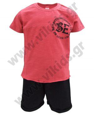 Σετ BE με κοντομάνικη μπλούζα 91326 Joyce