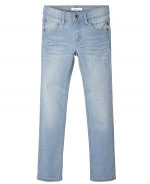 Πεντάτσεπο εποχιακό παντελόνι τζην ξεβαμμένο nameit 3364