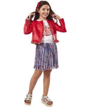 Σετ μπουφάν μπλούζα και πλισέ φούστα ebita 2011
