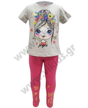 Σετ με κολάν και tshirt 201117 ΚΟΡΙΤΣΙ Joyce