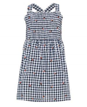 Καρώ φόρεμα με ράντες nameit 5666