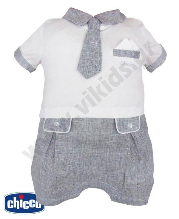 Κοντομάνικο φορμάκι με γραβάτα 50828 Chicco