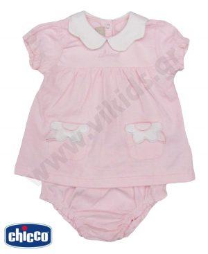 Βρεφικό σετ φόρεμα και βρακάκι ΛΟΥΛΟΥΔΙ 76405 Chicco