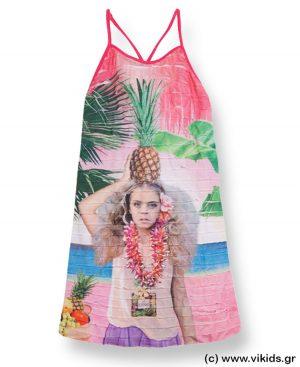 Φόρεμα με ράντες mayoral 6971