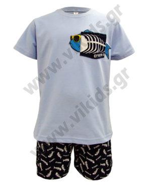 ΣΕΤ καλοκαιρινές πυτζάμες FISHBONE 98508 Dreams