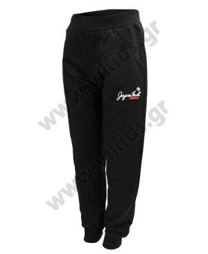 Εποχιακό παντελόνι φόρμας Joyce 6323 μαύρο