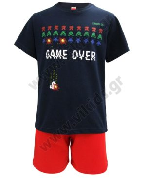 Σετ καλοκαιρινές πυτζάμες GAME OVER 201960 Dreams