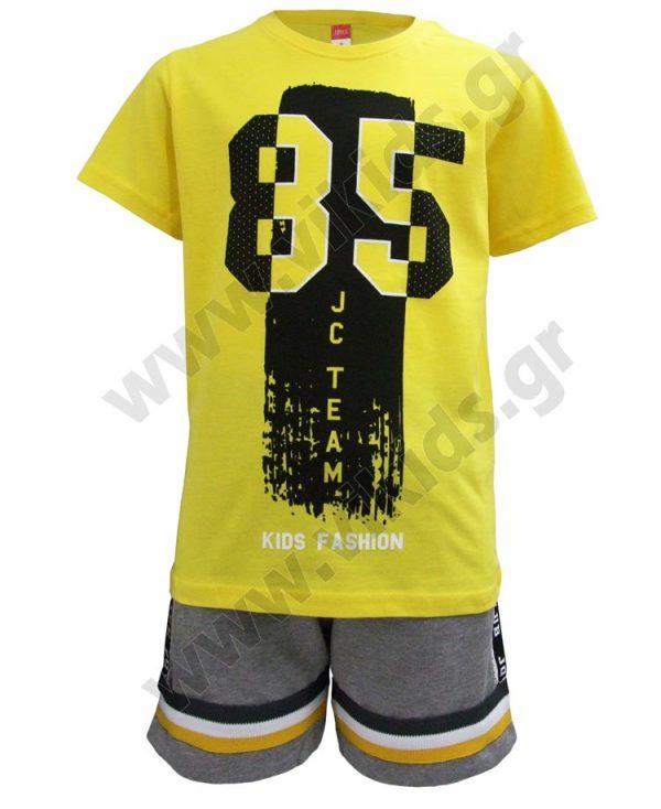 Σετ t-shirt 85 TEAM και βερμούδα 201495 Joyce