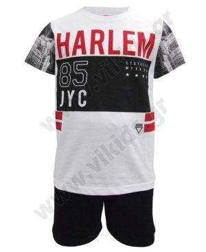 Σετ t-shirt HARLEM και σορτς 91718