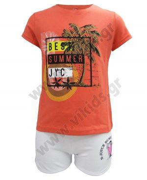Σετ T-shirt BEST SUMMER και σορτς 201345 Joyce
