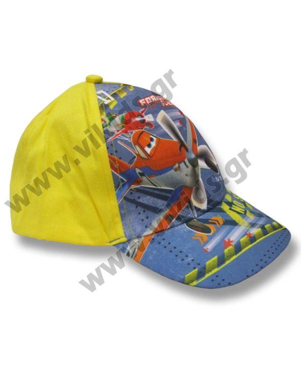 Καπέλο baseball Disney PLANES 4129 κίτρινο