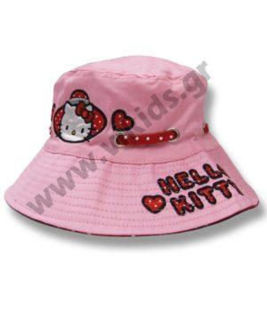 Καπέλο με μπορντούρα HELLO KITTY 4006 ροζ