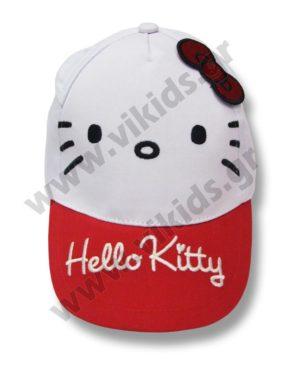 Καπέλο baseball HELLO KITTY 4312 κόκκινο