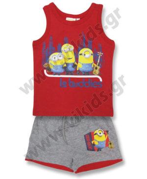 Σετ με αμάνικη μπλούζα Minions Le buddies 10271
