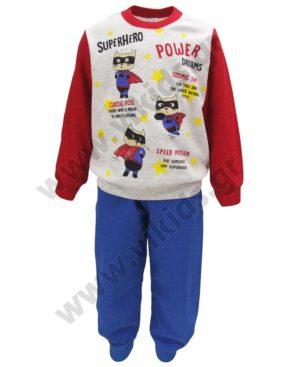 Σετ πυτζάμες για αγόρια SUPERHERO POWER 202854