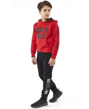 Φόρμες φούτερ με κουκούλα 203741 Hashtag