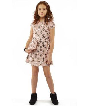 Κοντομάνικο φόρεμα με τσαντάκι ΕΒΙΤΑ 203031