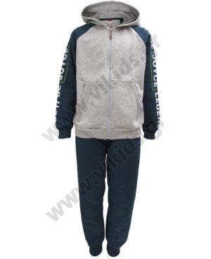 Φόρμες φούτερ με ζακέτα και κουκούλα LEGEND 202402 πετρόλ