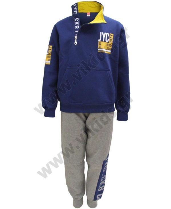 Σετ φόρμες φούτερ για αγόρια CITY 202419 Joyce