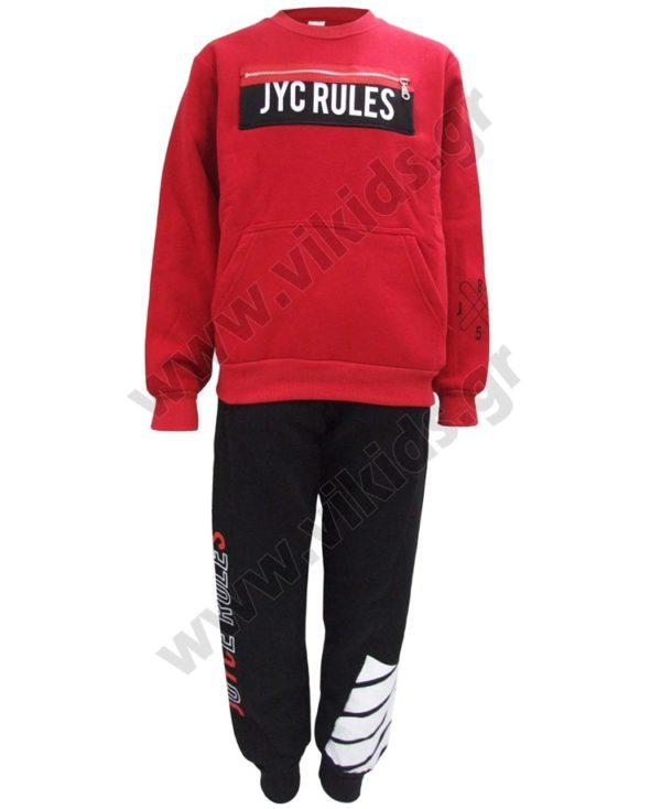 Σετ φόρμες φούτερ JYC RULES 202424 Joyce