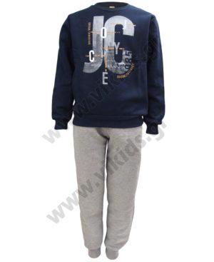 Σετ φόρμες φούτερ για αγόρια Joyce 202431 μπλε