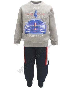 Σετ φόρμες φούτερ WIN RACE 202210 Joyce για αγόρια